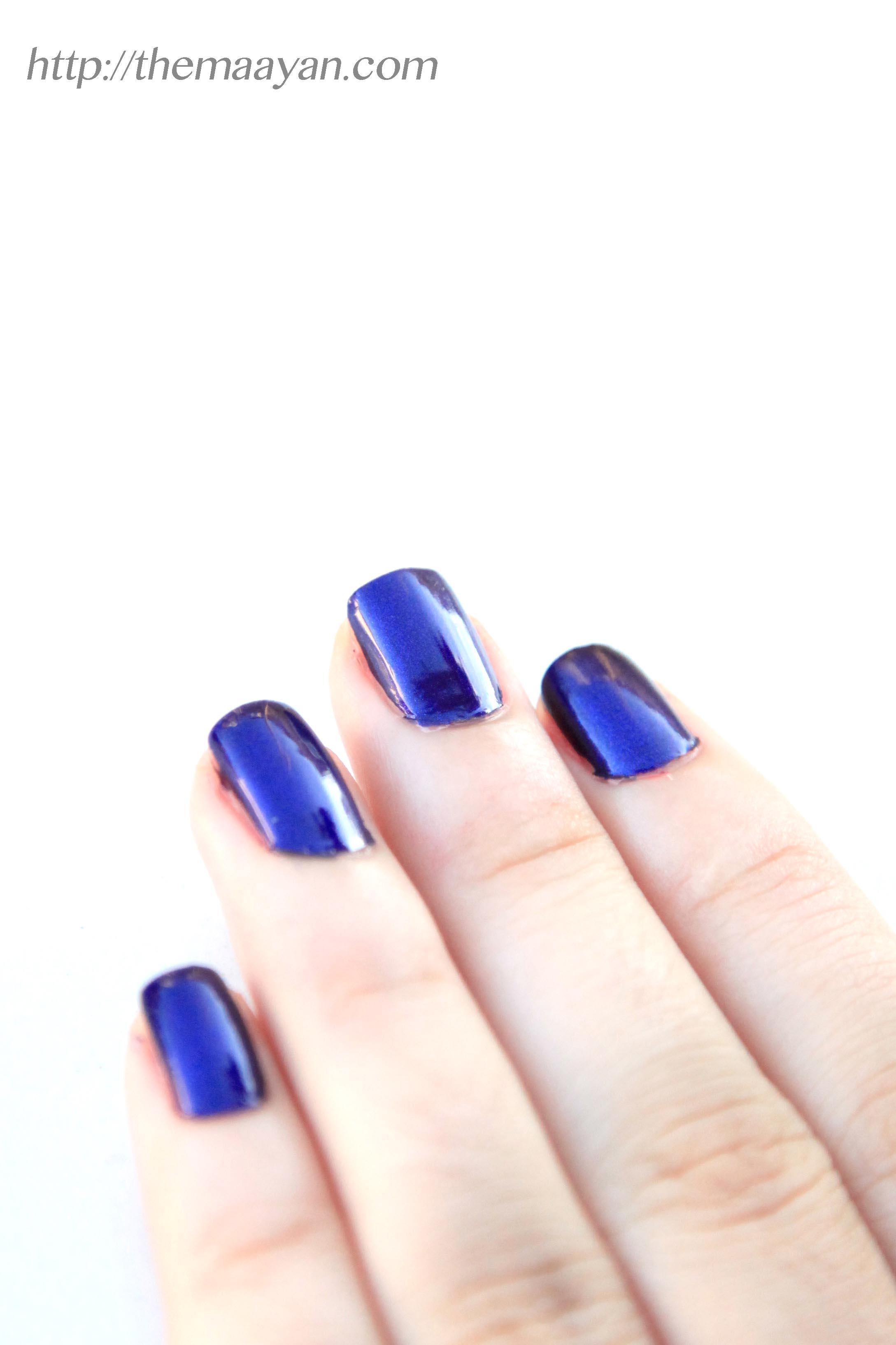 לק כחול מיסטי